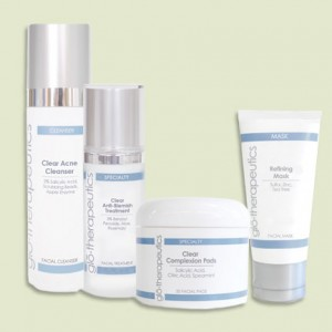 Clear Complexion Facial, Great for Teens, Ivy Day Spa, Glo Skin Care