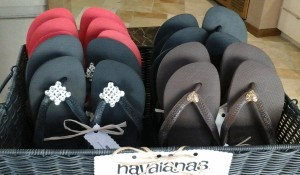 Havaianas Bling Flip Flops at the Ivy Day Spa Lifestyle Store, Valencia