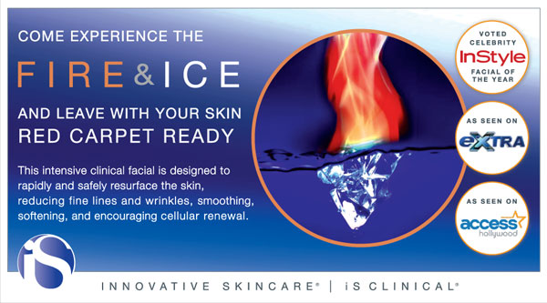 Fire and Ice Facial iSClinical