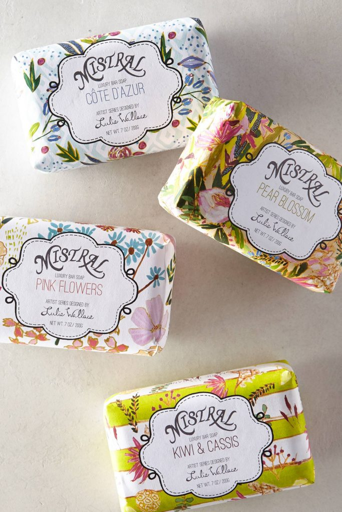 delightful french soaps from Mistral
