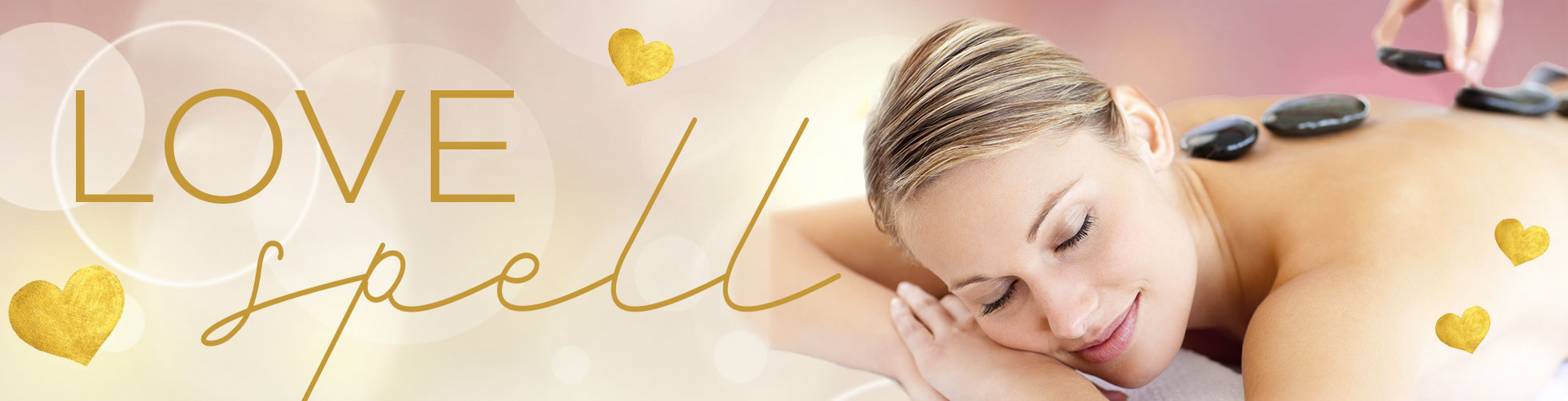 Valentine Spa Specials, Love Spell Massage and Body Treatment