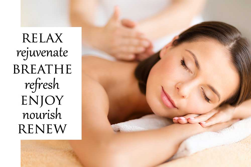 relax with spa day massage