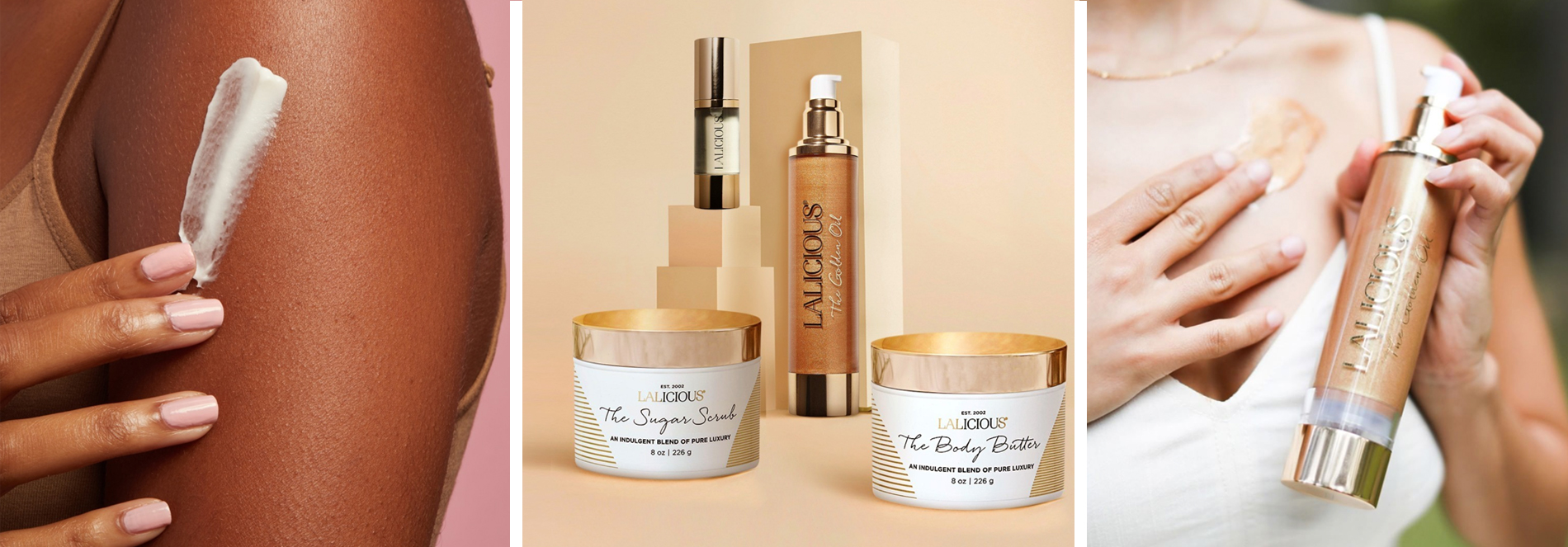 Get the Summer Glow with these body care from Lalicious